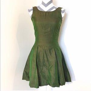 Betsy Johnson Rare iridescent 90s Silk Dress